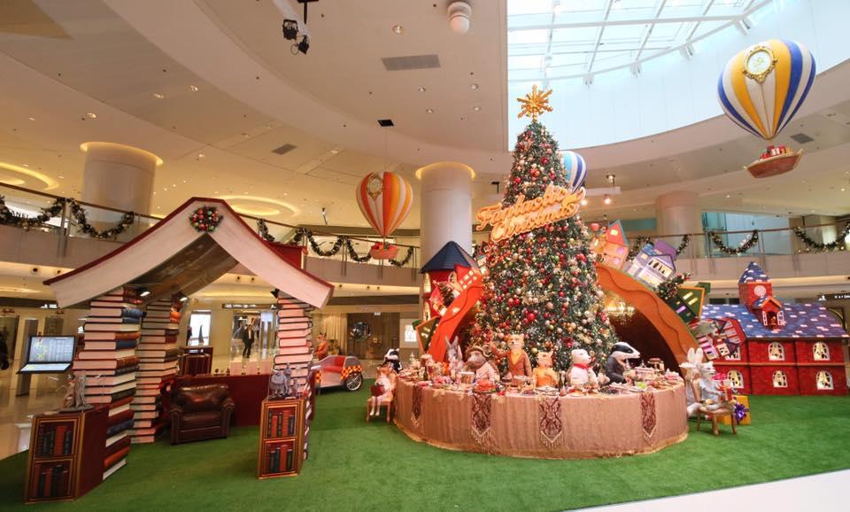 香港冬季購物節 圖 片 來 源 : Elements 圓 方 。