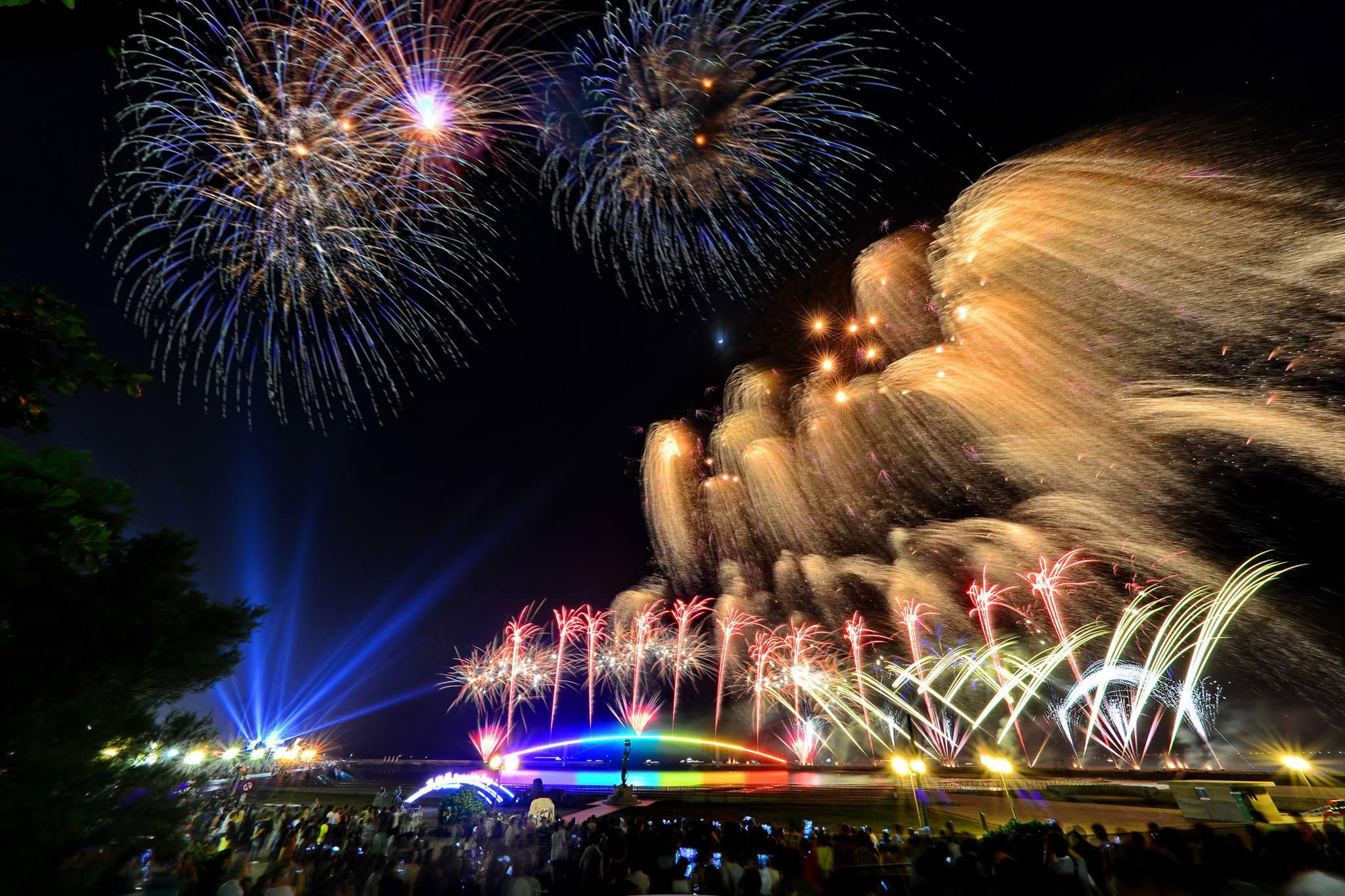 圖片來源:澎湖國際海上花火節Facebook