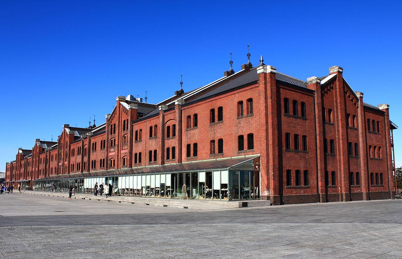 橫濱紅磚倉庫外貌。|來源:zh.wikipedia.org