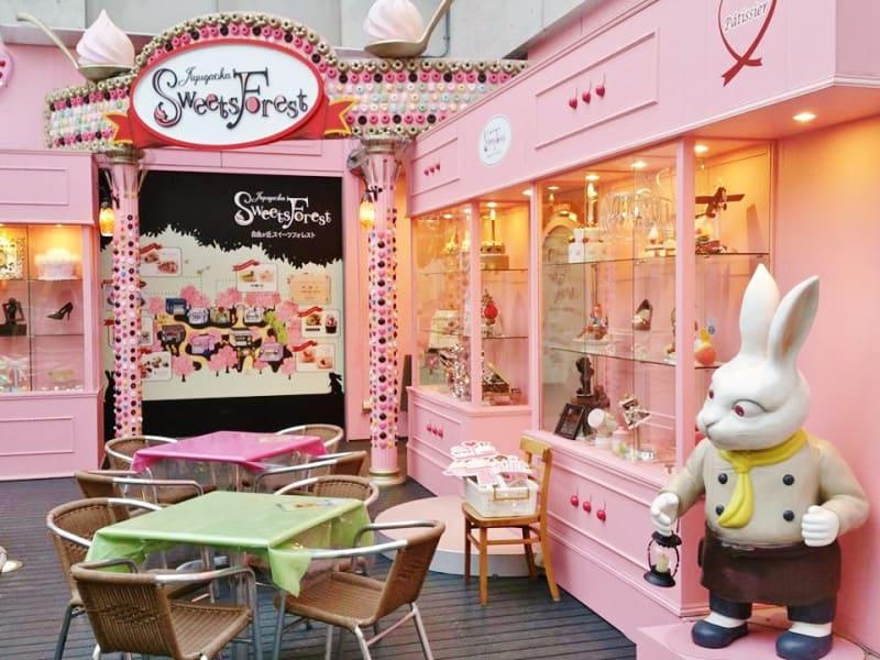 自由之丘的甜點森林。|來源:ameblo.jp