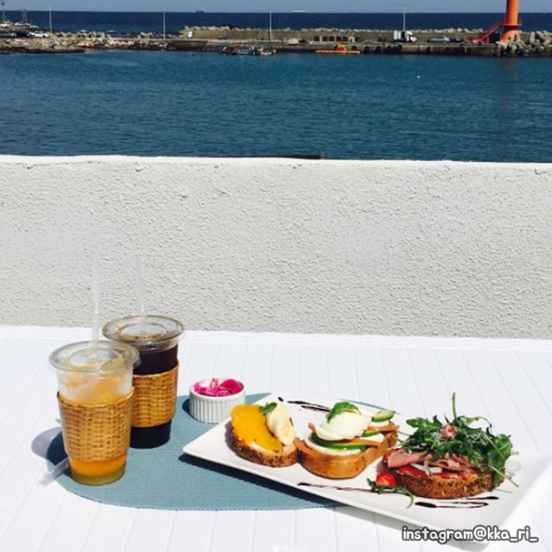 釜山機張市超人氣沿海咖啡店