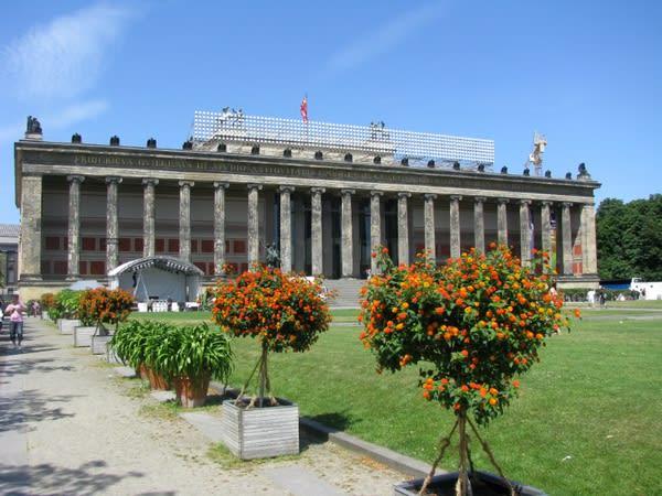 柏林舊博物館。