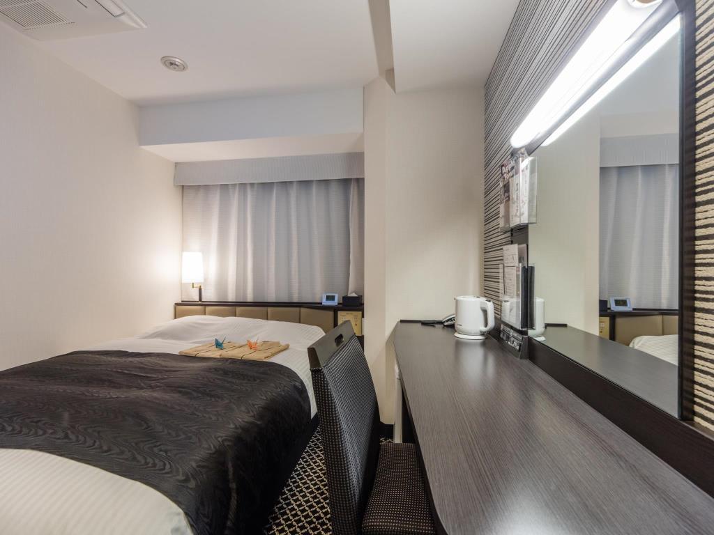 APA飯店-京成上野站前房內樣貌。|來源:agoda