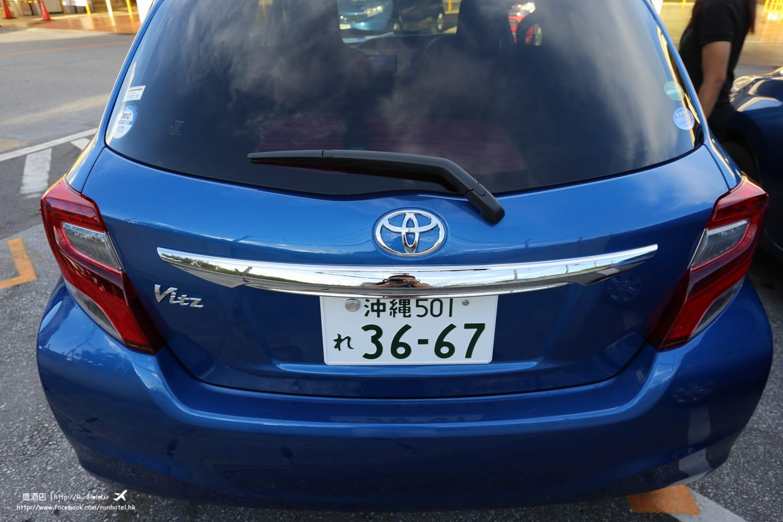 沖繩自駕,沖繩租車費用。