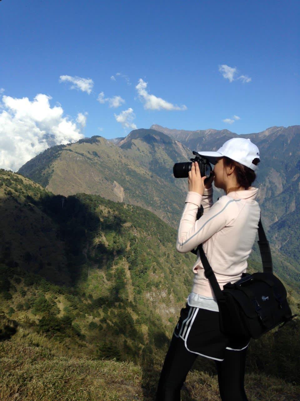 鹿林山步道視野遼闊,能輕鬆拍出美照 (Photo / Ran)