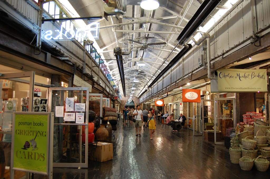 Chelsea Market|圖片來源:flickr https://goo.gl/B4BSUc