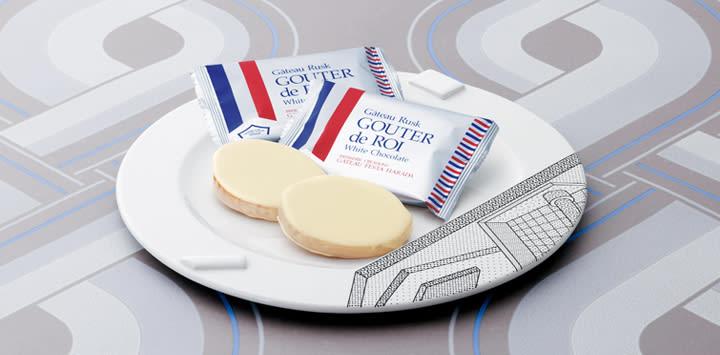 著名的白巧克力口味。(照片來源:www.gateaufesta-harada.com)