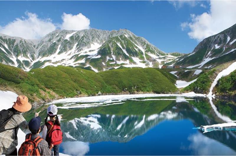 室堂(照片來源:Tateyama Kurobe Alpine Route官網)https://www.alpen-route.com/tw/