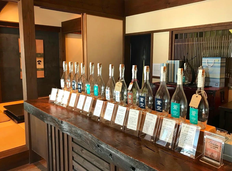 被命名為「蒼空」的酒,擁有會讓人想起像藍天一樣清爽溫和的味道 |圖片來源:吳胖達