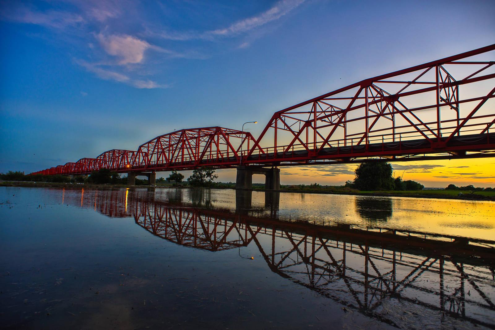西螺大橋。(Flickr商用授權作者-Bibi.barbie)