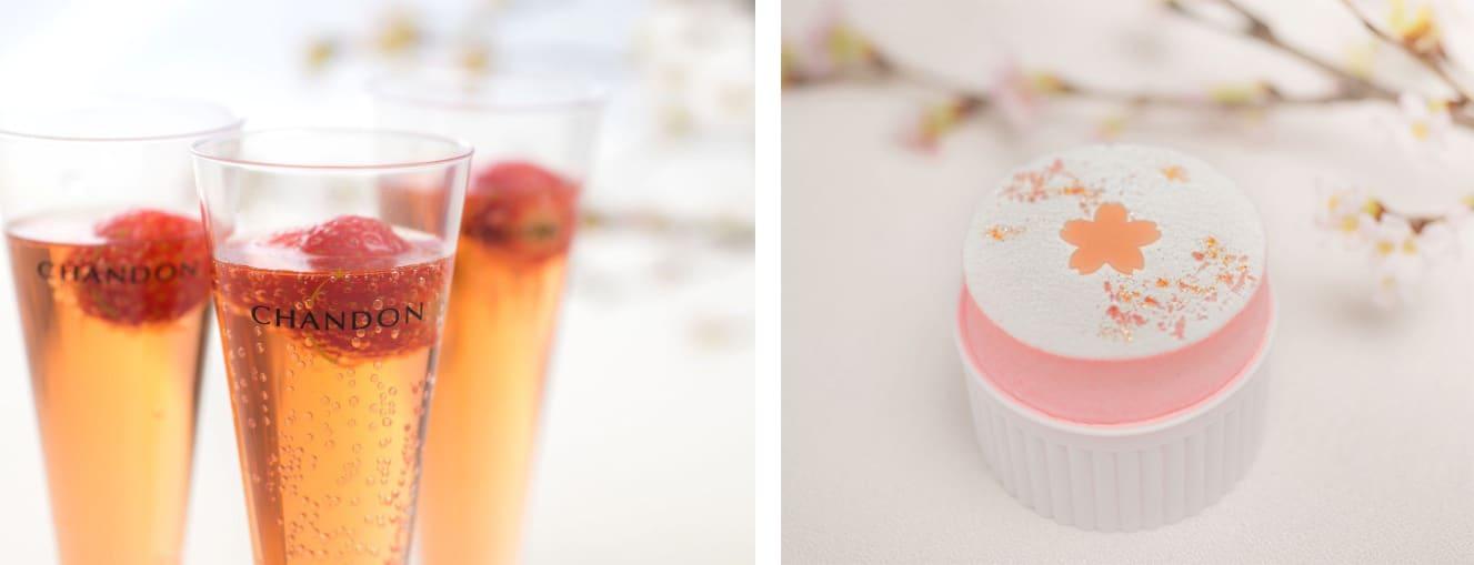 左:草莓漂浮飲/右:Cherry Frozen Souffle(來源:FASHION PRESS)