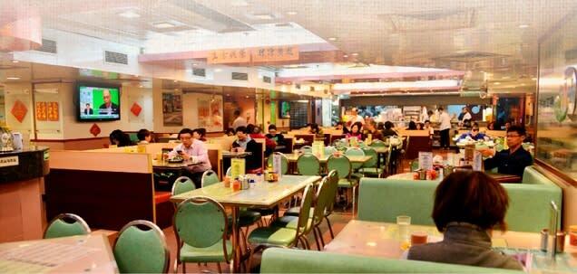 經典港式茶餐廳。圖片來源:檀島咖啡餅店官網