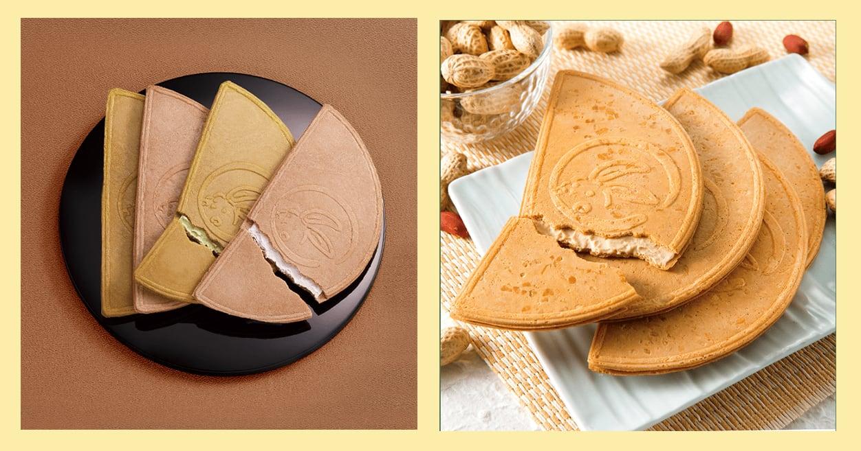 右圖為限定的花生口味。(來源:www.kamakuragoro.co.jp)