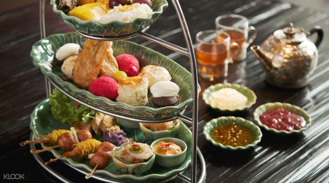 曼谷下午茶Erawan Tea Room,享受特色泰式糕點,顛覆英式下午茶印象!