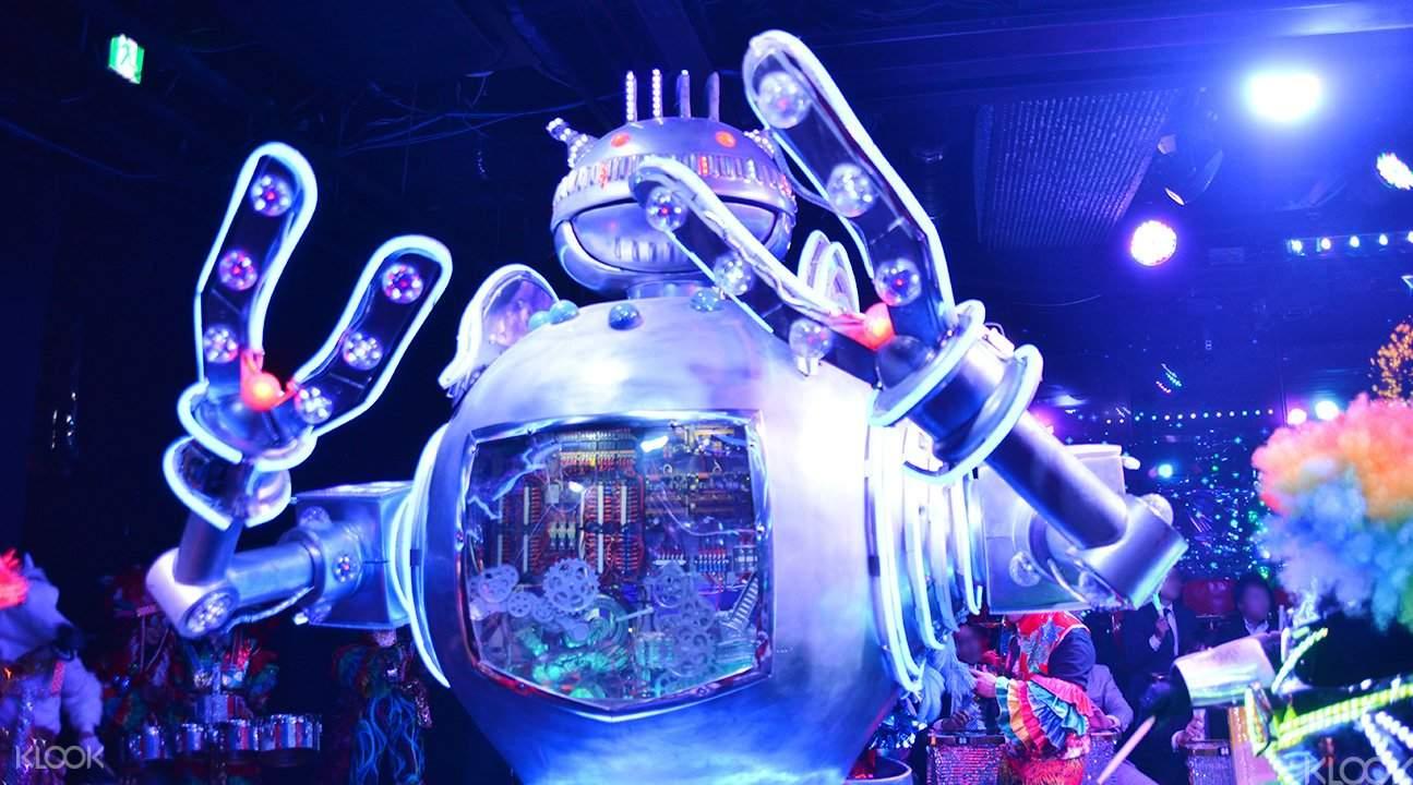 新宿機器人餐廳