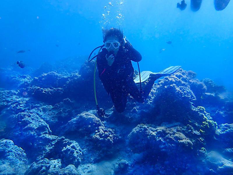 綠島體驗潛水行程。