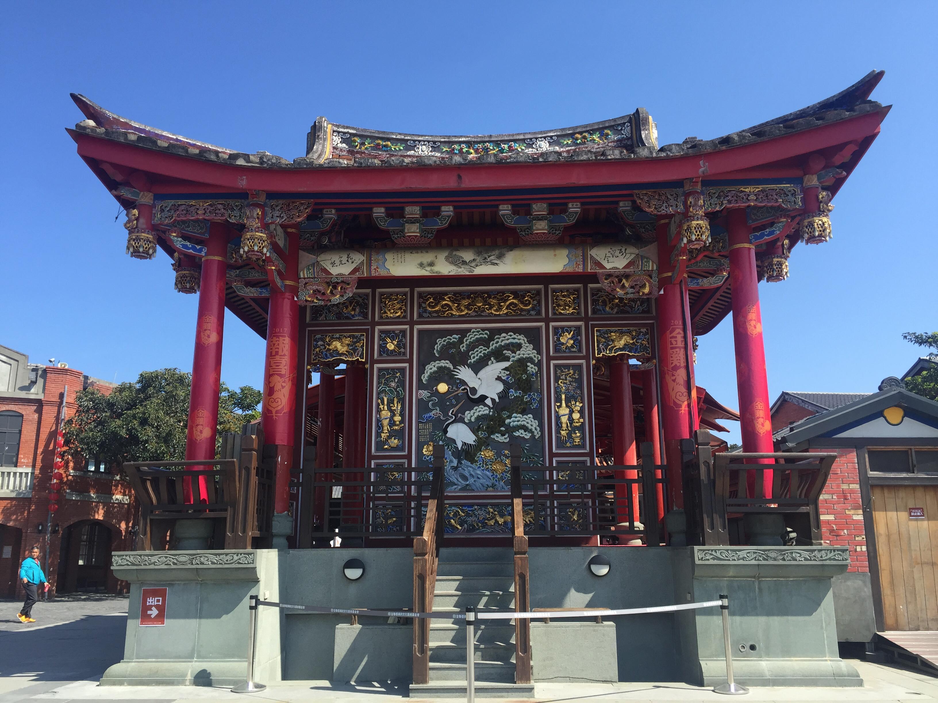 文昌廟戲台。