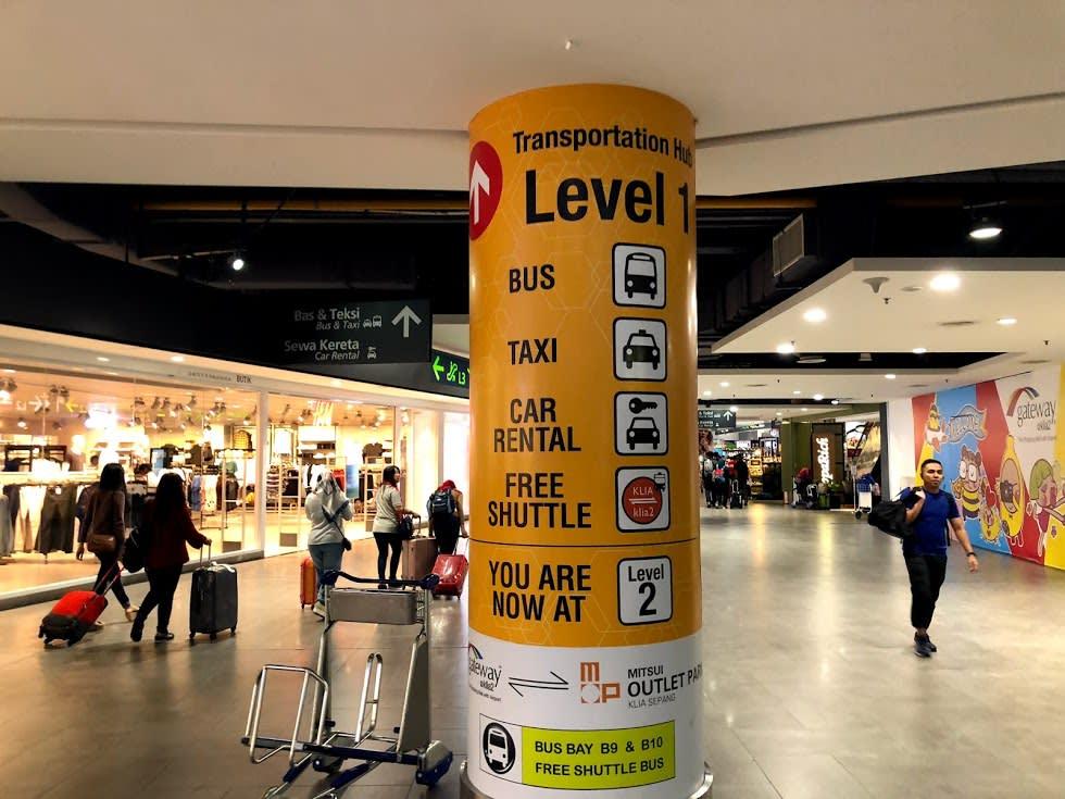 吉隆坡機場交通,吉隆坡機場快線,吉隆坡機場交通比價 |Photo:Zach