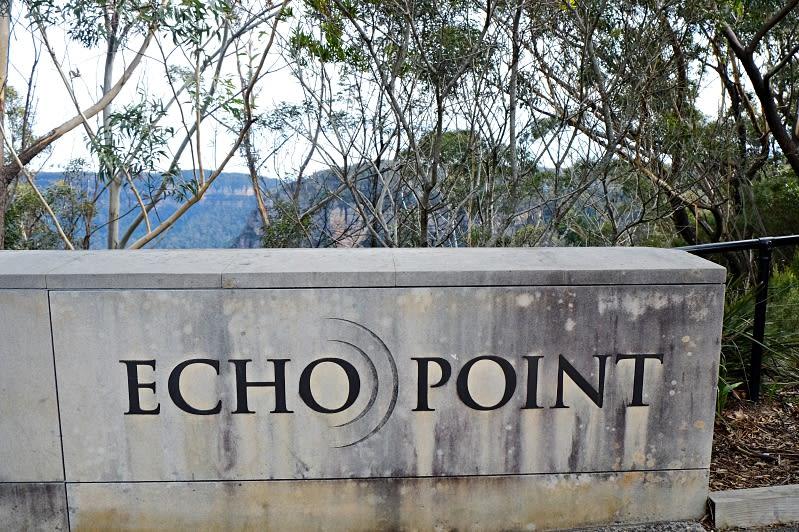 回音谷(Echo Point)