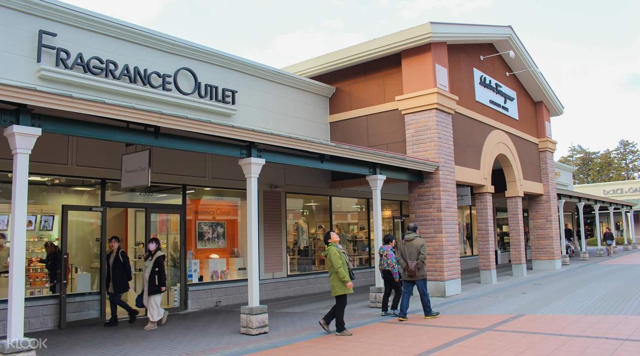 眾多歐美品牌目不暇給,堪稱日本購物天堂。