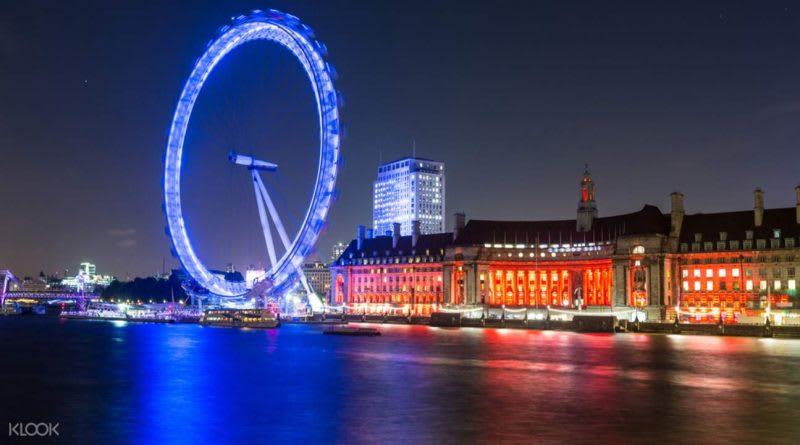 倫敦眼摩天輪,來源:KLOOK