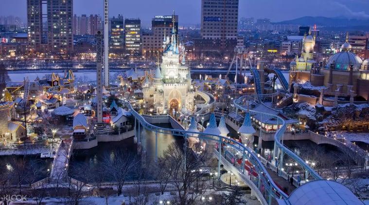 韓國樂天世界主題樂園,來源:KLOOK。