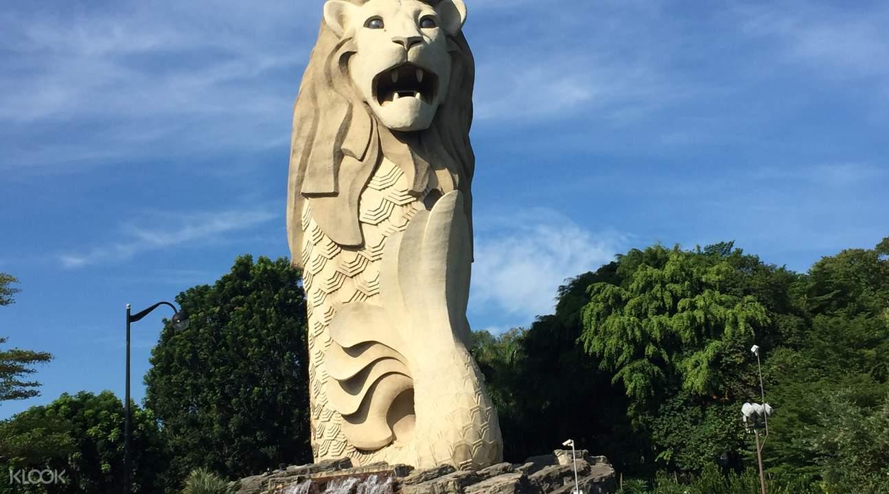 新加坡的守護神,宏偉壯觀。