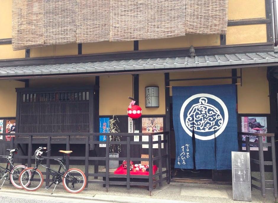 位在町屋中的口金包專賣店。照片來源:吳胖達