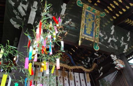 供奉學問之神的北野天滿宮,是修學旅行的必到之地。照片來源:吳胖達