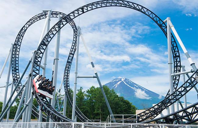 圖片取自富士急樂園官網。