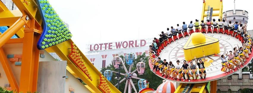 韓國樂天世界遊樂設施,來源:樂天世界粉絲專頁。