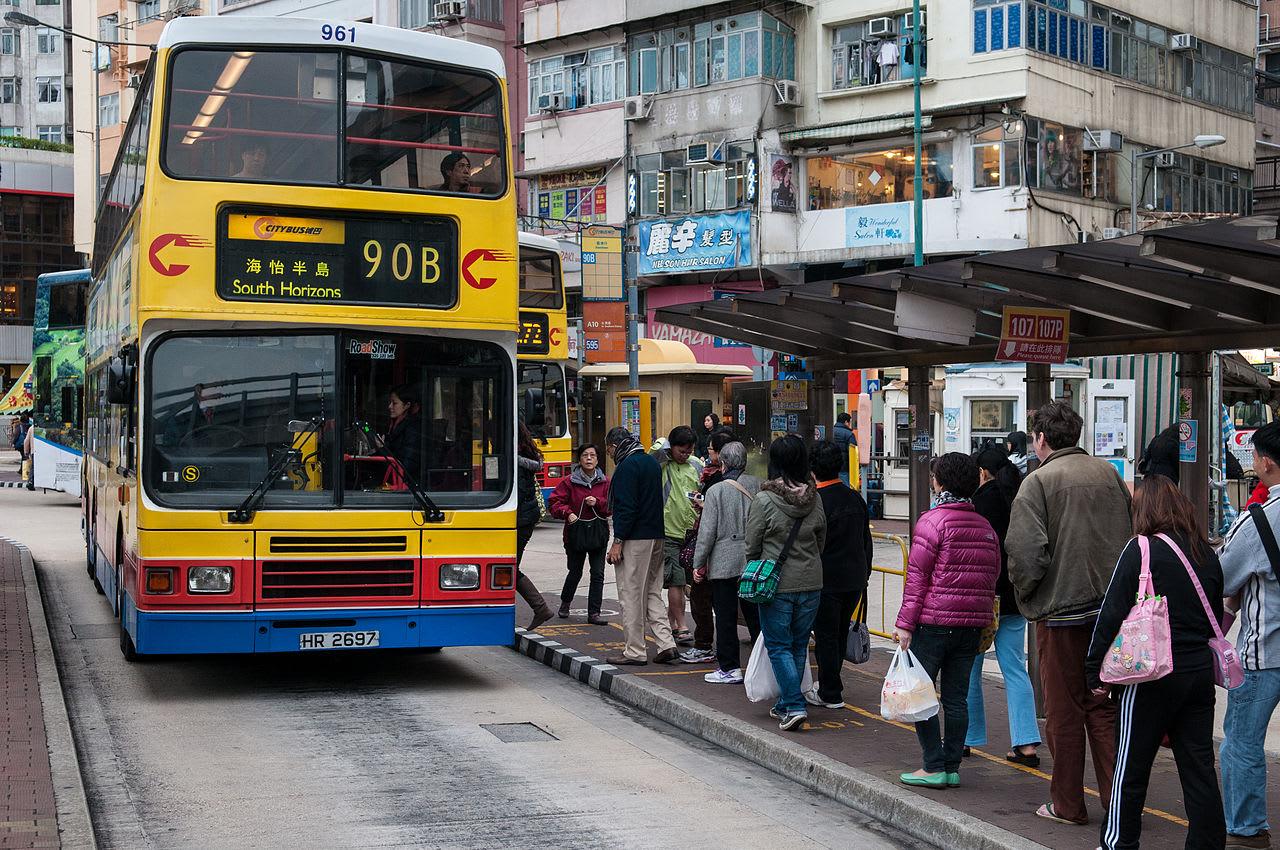 香港雙層巴士