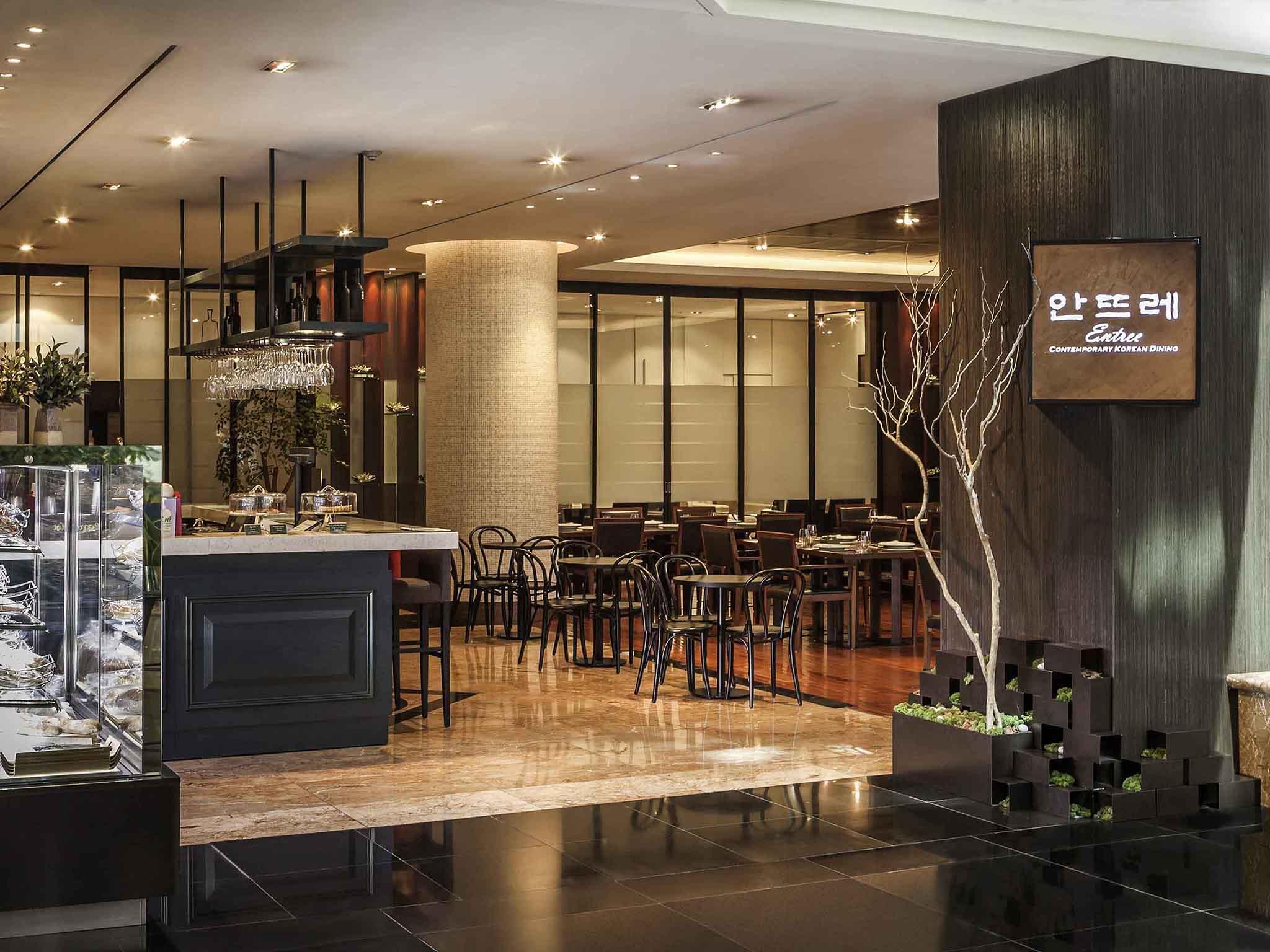 諾富特大使酒店江南店餐廳一景。(圖片取自諾富特大使酒店江南店官網)