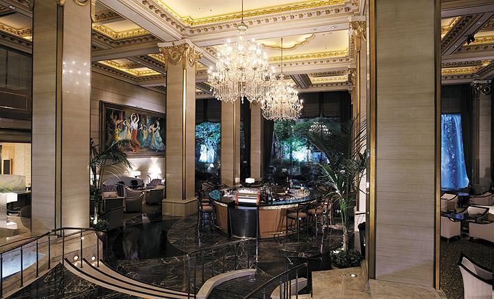 首爾樂天酒店大廳(圖片取自首爾樂天酒店官網)