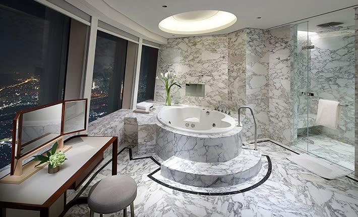 賽格內爾首爾酒店客房衛浴空間。(圖片取自賽格內爾首爾酒店官網)