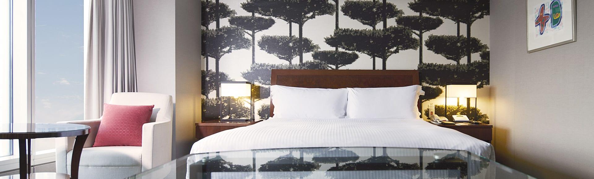 首爾COEX洲際酒店客房。(圖片取自首爾COEX洲際酒店官網)