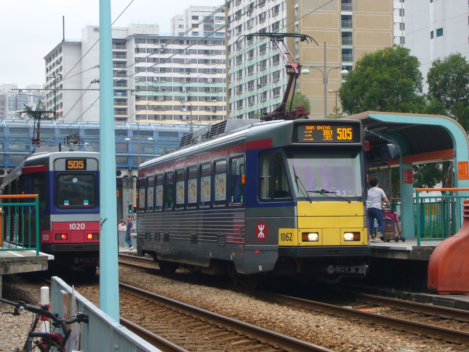 輕鐵屬於比較小眾的交通工具。(圖片取自wikimedia)