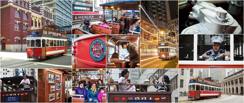 電車全景遊,慢慢體驗在地城市風景。(圖片取自香港電車官網)