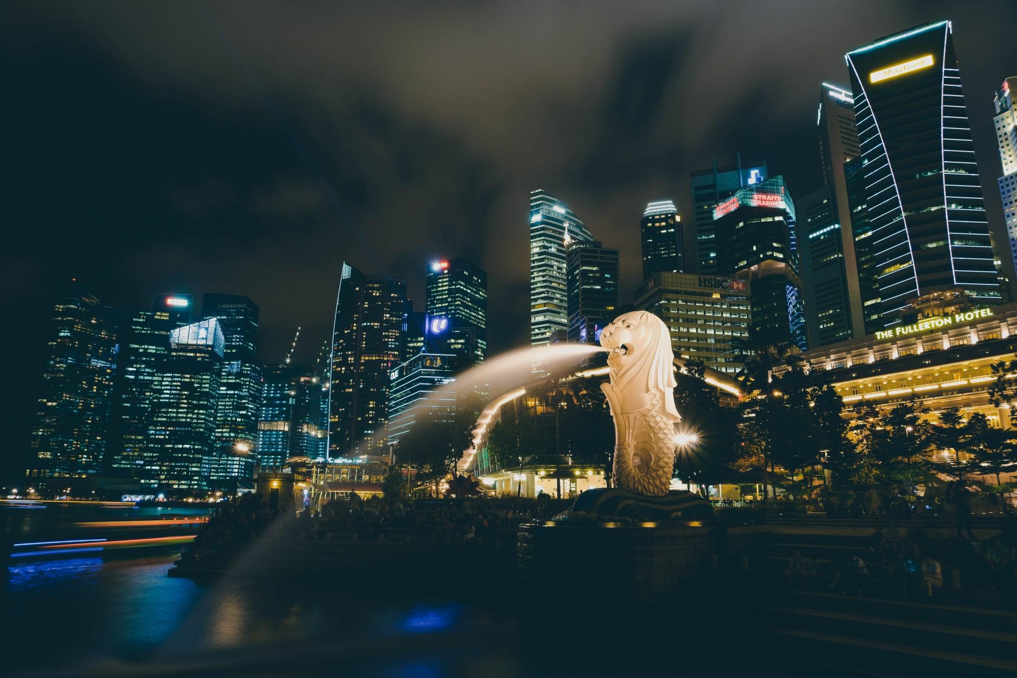 魚尾獅公園 Photo by Fancycrave on Unsplash