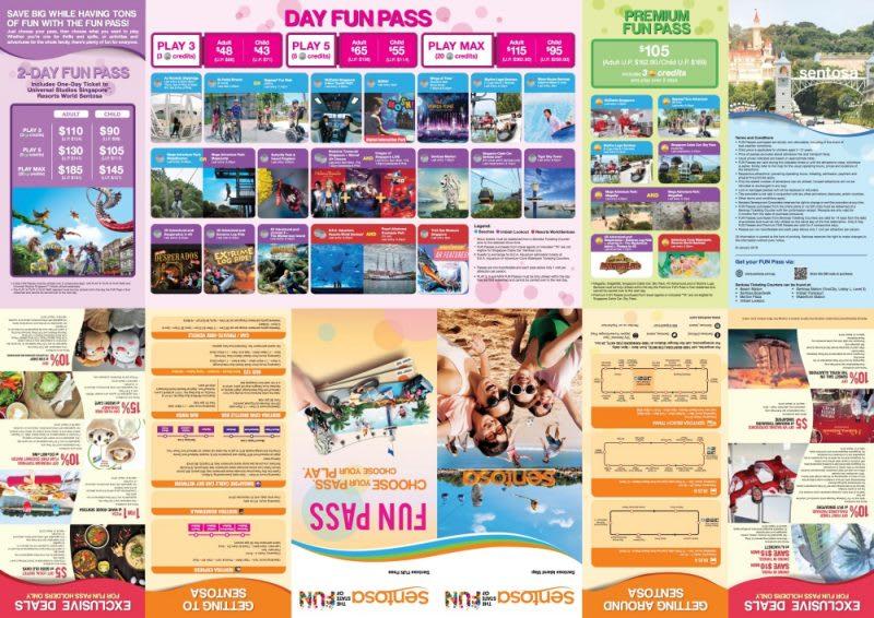 新加坡聖淘沙地圖