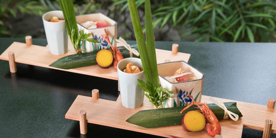高級豆腐專賣店,餐點精緻美味。(圖片取自東京芝豆腐屋UKAI官網)