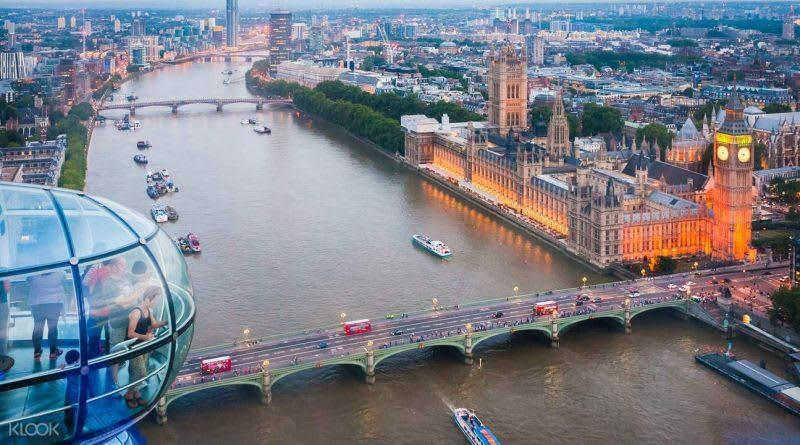 倫敦眼摩天輪門票,來源:KLOOK