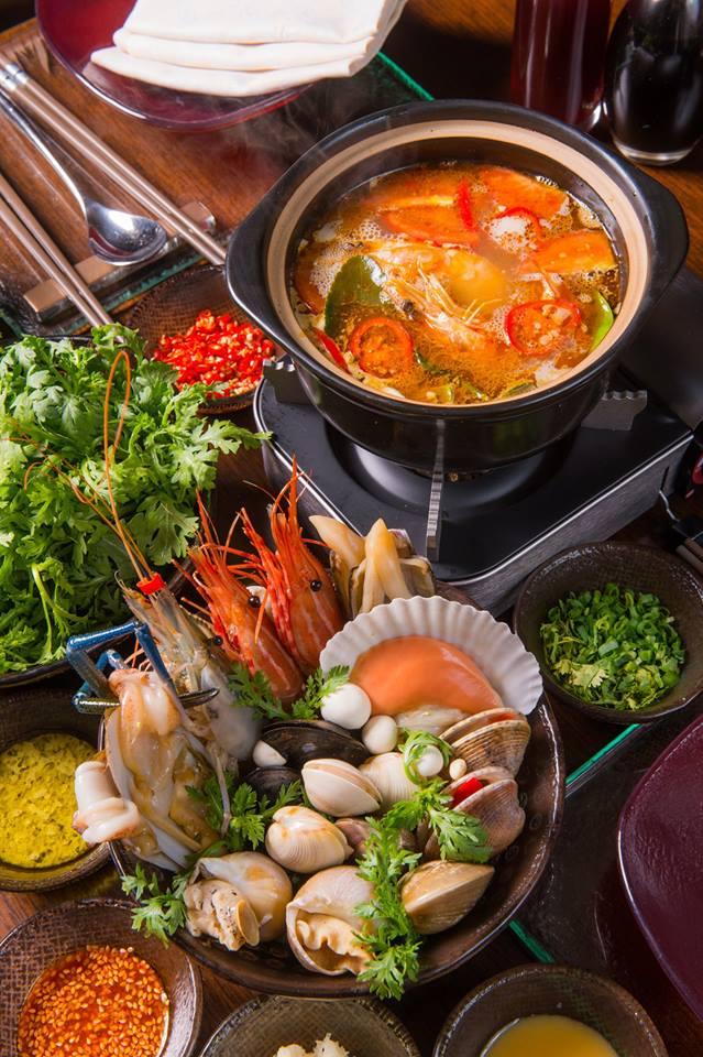 海鮮單人鍋。來源:FB。