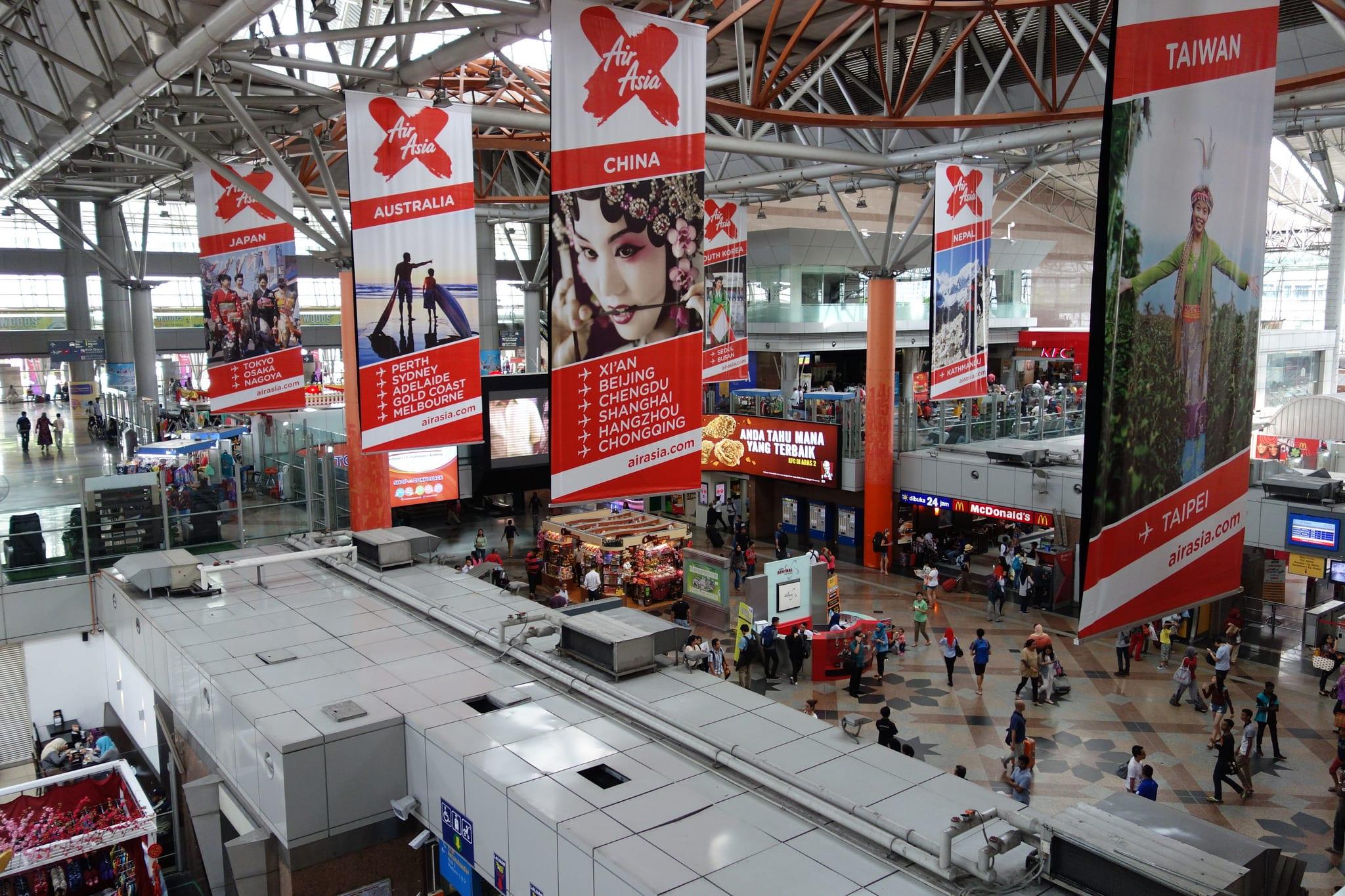 吉隆坡的重要交通樞紐,各種路線的交會點。來源: http://bit.ly/2KOX3Tp 。