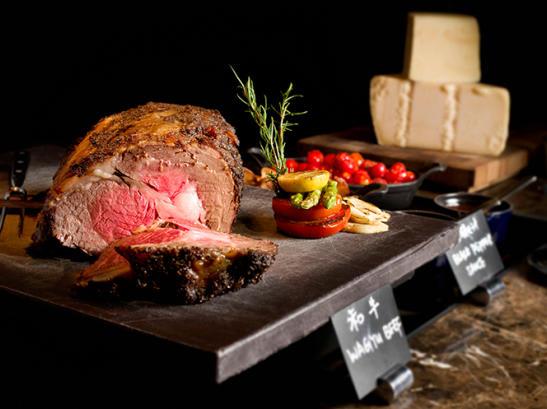 真空低溫慢煮的優質牛肉。來源:JW 萬豪酒店 名廚都匯餐廳官網。
