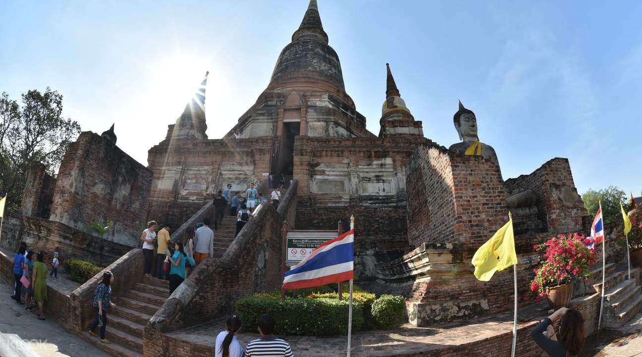 大城府遺址,古暹羅曾經的燦爛文明。