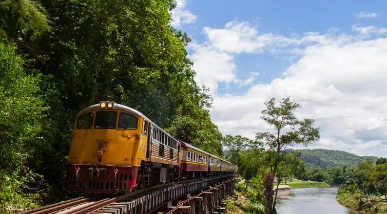 泰緬鐵路為旅客必去景點之一。來源:KLOOK