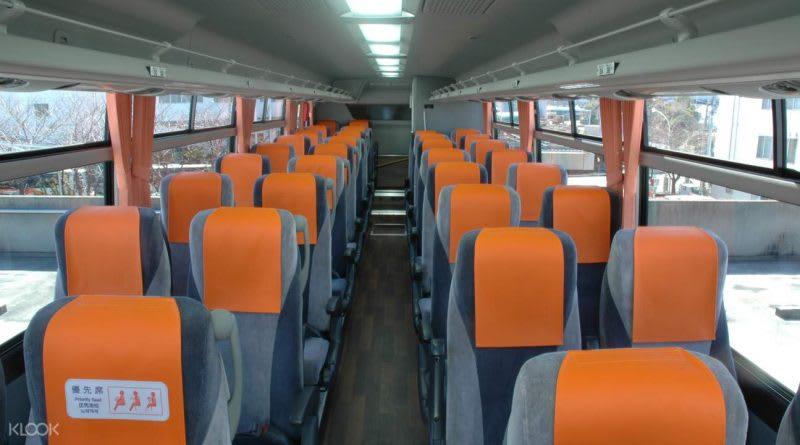 東京利木津巴士,來源:KLOOK官網