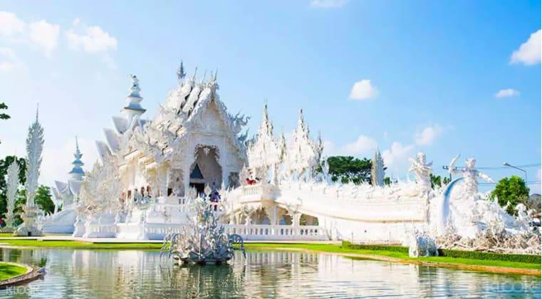 潔白神聖的白廟,又稱「白龍寺」。來源:KLOOK。