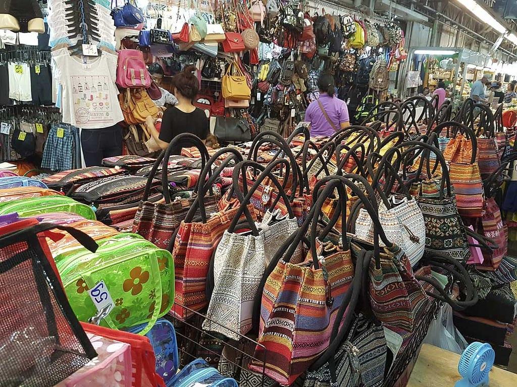 各式各樣的編織包包。來源:http://bit.ly/2KZEyve。